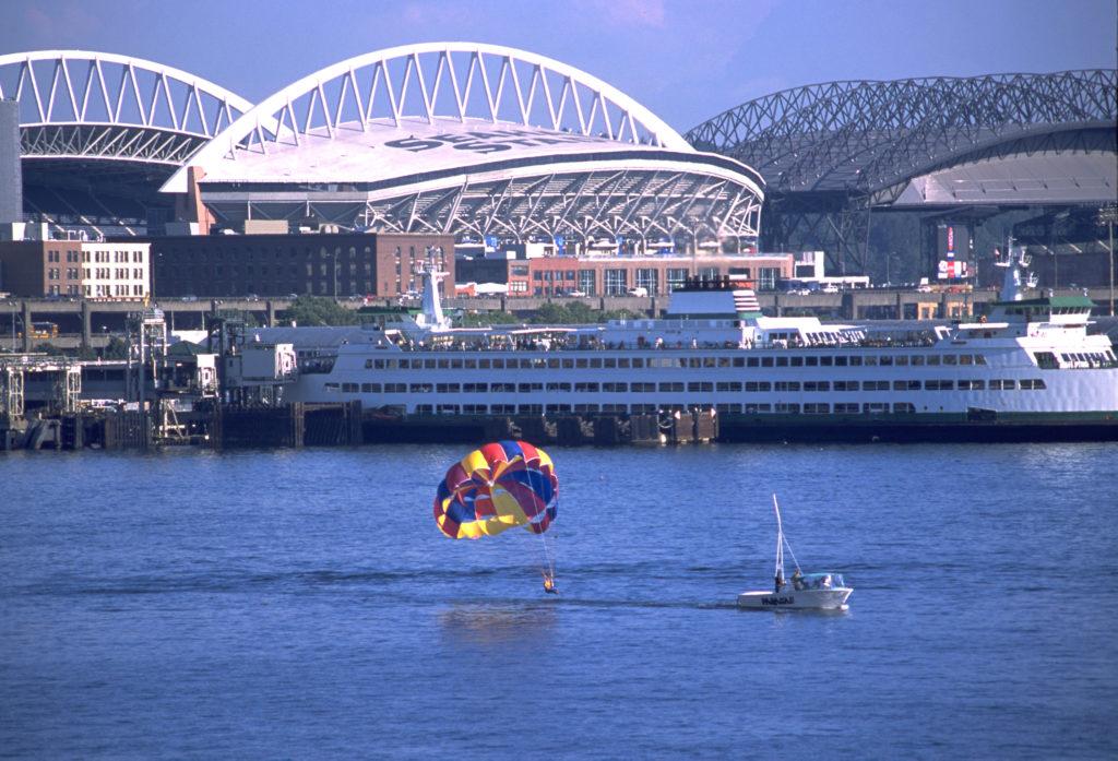 Safeco Field and Seahawks Stadium - Seattle